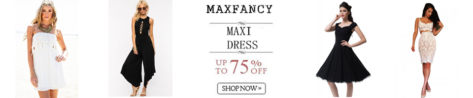 WOMEN'S DRESSES——MAXFANCY
